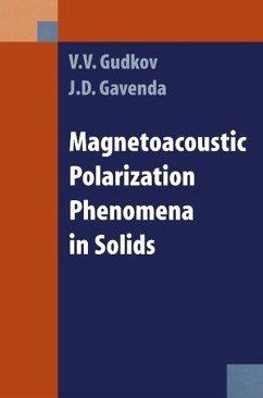 Magnetoacoustic Polarization Phenomena in Solids - Gudkov, V. V.; Gavenda, David