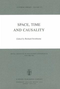 Space, Time and Causality - Swinburne, Richard