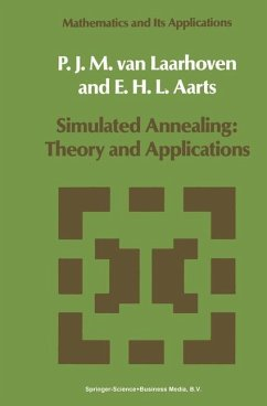 Simulated Annealing: Theory and Applications - Laarhoven, P. J. van Aarts, Emile