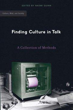 Finding Culture in Talk