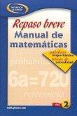 Quick Review Math Handbook: Hot Words, Hot Topics, Book 2, Spanish Student Edition