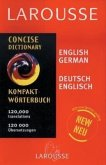 Larousse Concise German/English English German Dictionary