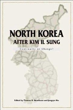 North Korea After Kim Il-Sung - Henriksen, Thomas H.; Mo, Jongryn