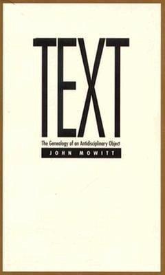 Text - Mowitt, John