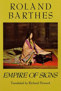 Empire of Signs - Barthes, Roland