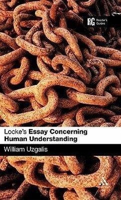 Locke Sparknotes Essay Concerning Human Understanding