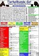 Tierheilkunde-Karten Set. Schüssler Salze & Bac...