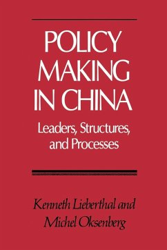 Policy Making in China - Lieberthal, Kenneth Oksenberg, Michel
