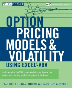 Option Pricing Models and Volatility Using Excel-VBA [With CD-ROM] - Rouah, Fabrice D.; Vainberg, Gregory