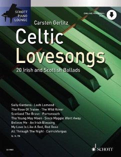 Celtic Lovesongs, für Klavier, m. Audio-CD
