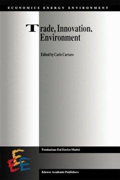 Trade, Innovation, Environment - Carraro, C. (Hrsg.)