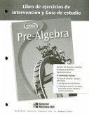 Pre-Algebra Libro de Ejercicios de Intervencion y Guia de Estudio