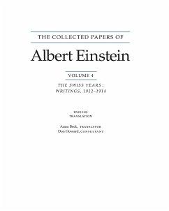 The Collected Papers of Albert Einstein, Volume 4 (English) - Einstein, Albert