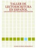 TALLER DE LECTOESCRITURA EN ESPAÑOL