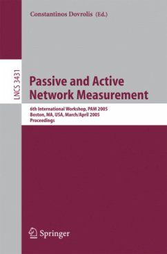 Passive and Active Network Measurement - Dovrolis, Constantinos (ed.)