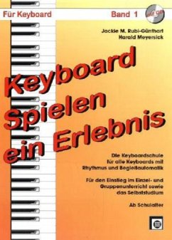 Keyboard spielen, ein Erlebnis, m. Audio-CD