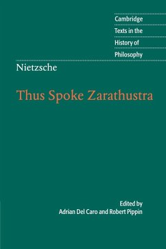Nietzsche: Thus Spoke Zarathustra