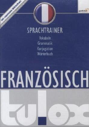 tulox Sprachtrainer Französisch - Vokabeltrainer, Konjugations- und Grammatiktrainer inklusive großem e-Taschen-Wörterbuch mit 90.000 fremdsprachlich vertonten Vokabeln