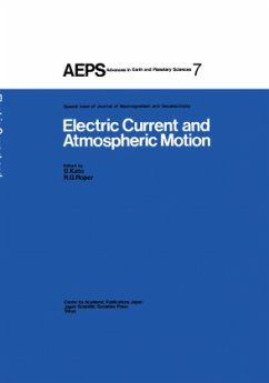Electric Current and Atmospheric Motion - Kato, S. / Roper, R.G. (Hgg.)