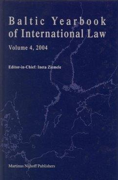 Baltic Yearbook of International Law, Volume 4 (2004) - Ziemele, Ineta (ed.)
