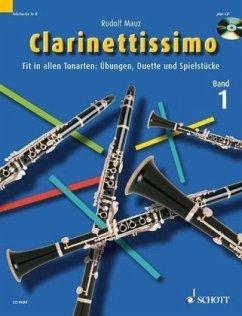 Clarinettissimo, m. Audio-CD - Mauz, Rudolf
