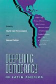 Deepening Democracy Latin America