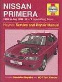 Nissan Primera Petrol (90 - Aug 99) Haynes Repair Manual