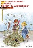 Die schönsten Herbst- & Winterlieder, für 1-2 Sopranblockflöten