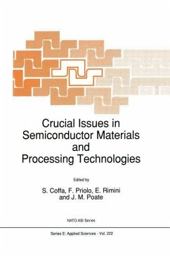 Crucial Issues in Semiconductor Materials and Processing Technologies - Coffa, S. / Priolo, F. / Rimini, Emanuele / Poate, J.M. (Hgg.)