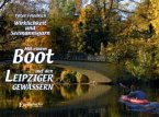 Mit einem Boot auf den Leipziger Gewässern