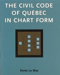 Civil Code of Quebec in Chart Form: - Le May, Denis