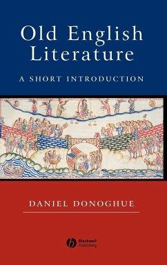 Old English Literature - Donoghue
