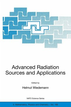 Advanced Radiation Sources and Applications - Wiedemann, Helmut (ed.)