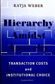 Hierarchy Amidst Anarchy: Transaction Costs and Institutional Choice