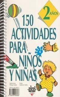 150 actividades para niña de 2 años. Libro de actividades