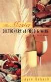 The Master Dictionary of Food and Wine