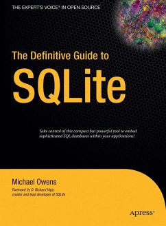 The Definitive Guide to SQLite - Owens, Mike