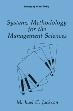 Systems Methodology for the Management Sciences - Jackson, Michael C.