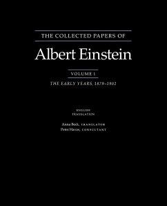 The Collected Papers of Albert Einstein, Volume 1 (English) - Einstein, Albert