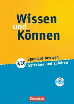 Wissen und Können. 9./10. Schuljahr. Sprechen u...