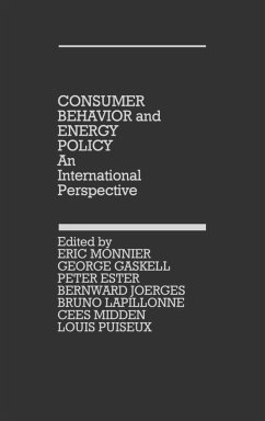 Consumer Behavior and Energy Policy - Gaskell, George