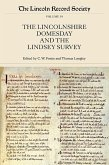 The Lincolnshire Domesday and the Lindsey Survey