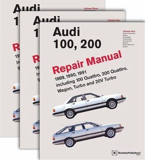 Audi 100, 200 Repair Manual--1989-1991: Including 100