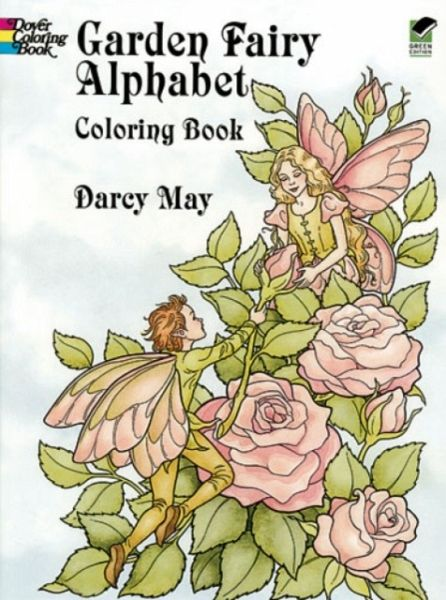 Garden Fairy Alphabet Coloring Book Von Darcy May