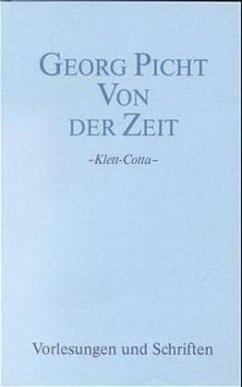 Von der Zeit - Picht, Georg