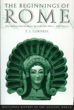 The Beginnings of Rome - Cornell, Tim