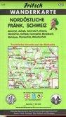Nordöstliche Fränkische Schweiz 1 : 35 000. Fritsch Wanderkarte