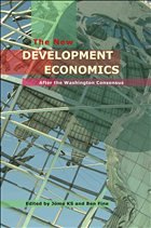 The New Development Economics: Post Washington Consensus Neoliberal Thinking - Fine, Ben / K.S., Jomo (eds.)