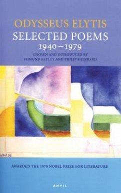 Selected Poems 1940-1979: Odysseus Elytis - Elytis, Odysseus