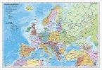 Stiefel Wandkarte Kleinformat Staaten Europas, Wandkarte, ohne Metallstäbe